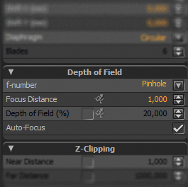 How to properly setup Depth of Field