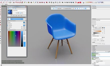Creating a translucent plastic material in Thea for SketchUp