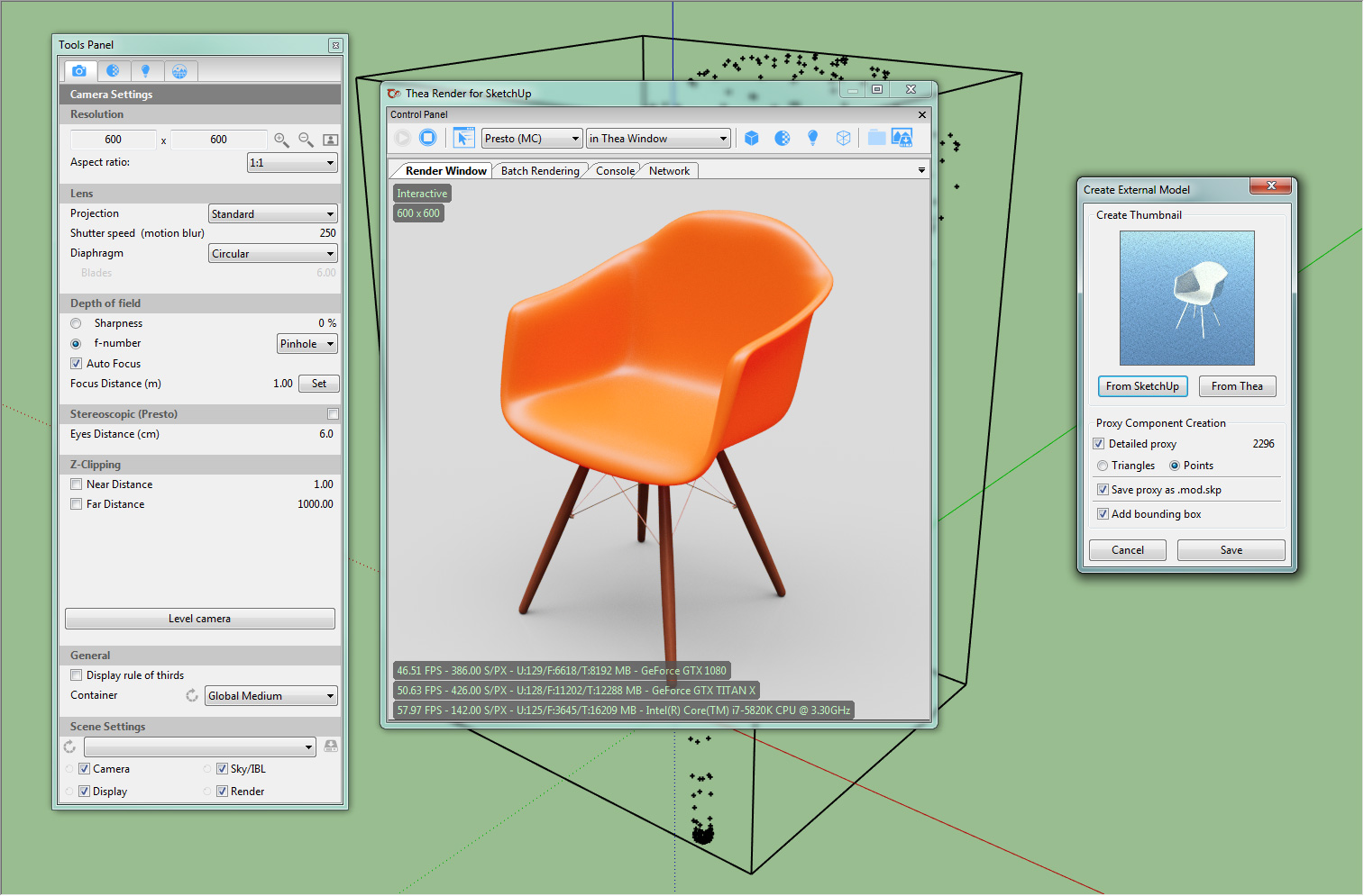 Creating proxies from FBX and Thea models » Thea Render