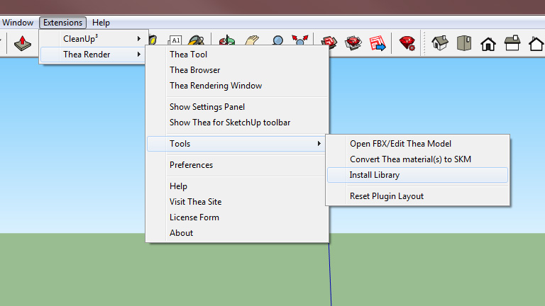 Installing Thea Libraries in Thea for SketchUp » Thea Render