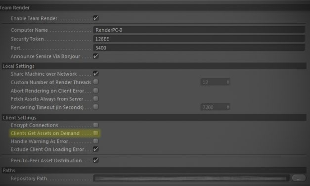 Missing files with Team Render